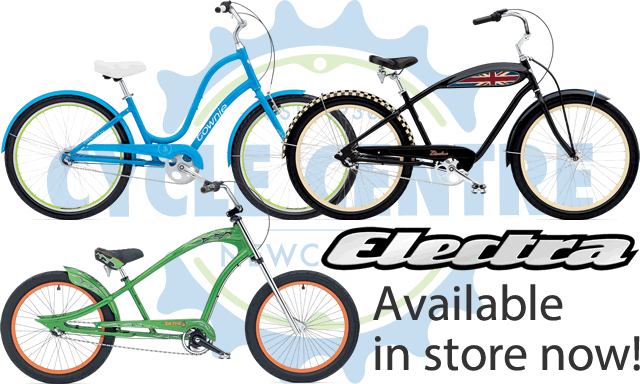 Electra Bikes at Cycle Centre