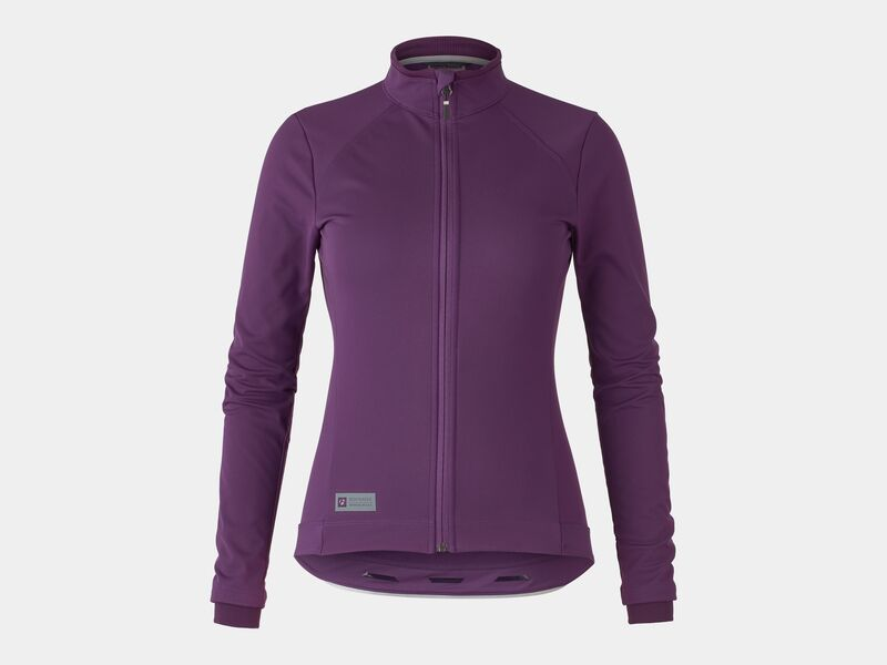 Bontrager Jacket Velocis Softshell Women Mulberry click to zoom image