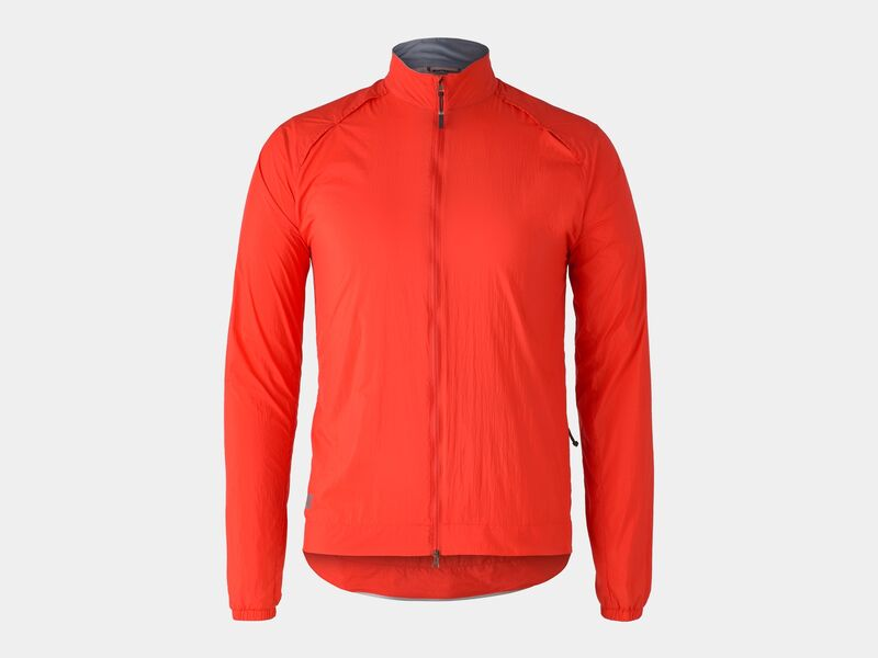 Bontrager Jacket Circuit Wind Radioactive Red click to zoom image