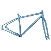 Surly Ogre Frameset 29er Cr-Mo Fork Cold Slate Blue