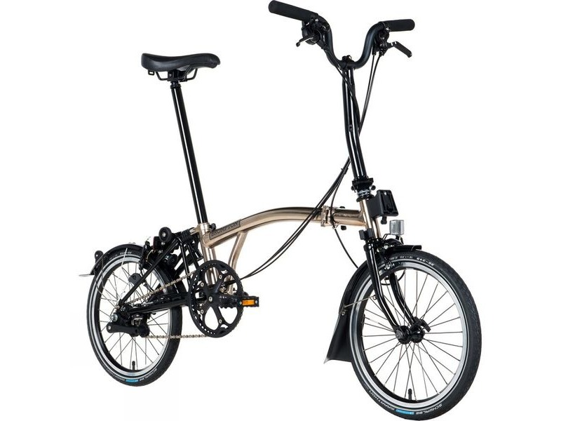 BROMPTON M6L NICKEL EDITION 2018 click to zoom image